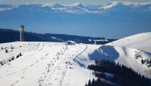 Downhill mountain skiing at the Feldberg Hills. (Advice and transfer)
